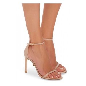 STUART WEITZMAN Nudist Song Patent Leather Heels
